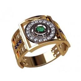 Мужское кольцо 3192