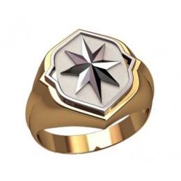 Мужское кольцо 3195