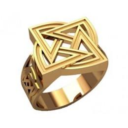 Мужское кольцо 3198