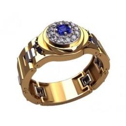 Мужское кольцо 3199