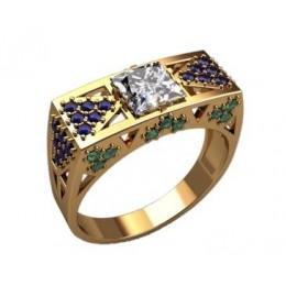Мужское кольцо 3203