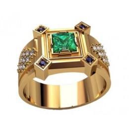 Мужское кольцо 3206