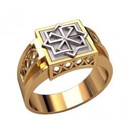 Мужское кольцо 3208