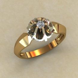Женское кольцо 0790