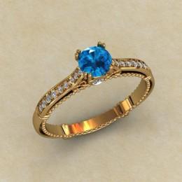 Женское кольцо 0791