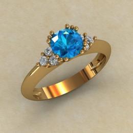 Женское кольцо 0792