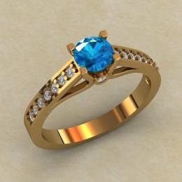 Женское кольцо 0793