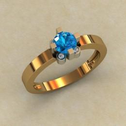 Женское кольцо 0794