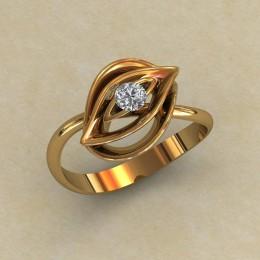Женское кольцо 0796
