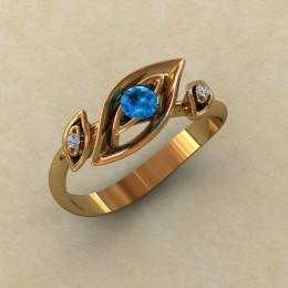 Женское кольцо 0797