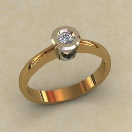 Женское кольцо 0798