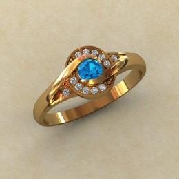 Женское кольцо 0799