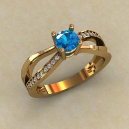 Женское кольцо 0806
