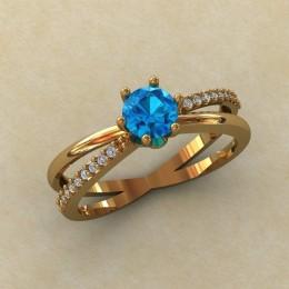 Женское кольцо 0801