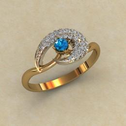 Женское кольцо 0802