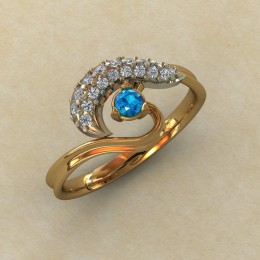 Женское кольцо 0803