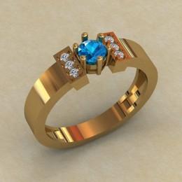 Женское кольцо 0807