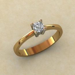 Женское кольцо 0809