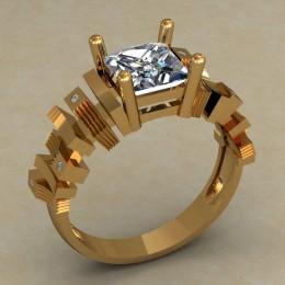Женский перстень 0678