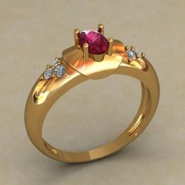 Женское кольцо 0681