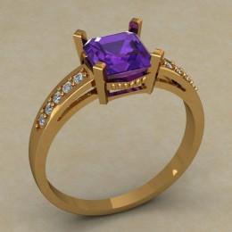 Женское кольцо 0689