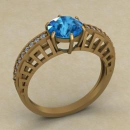 Женское кольцо 0691