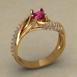 Женское кольцо 0692