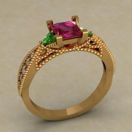 Женское кольцо 0696