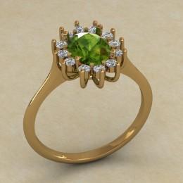 Женское кольцо 0700