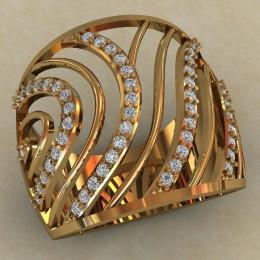 Женский перстень 0705