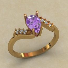 Женское кольцо 0707