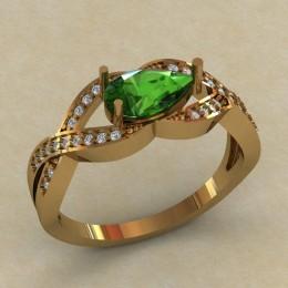 Женское кольцо 0708