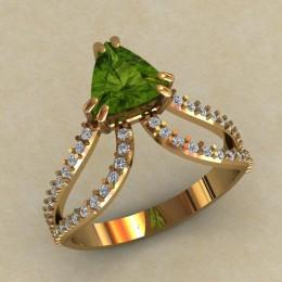Женское кольцо 0711