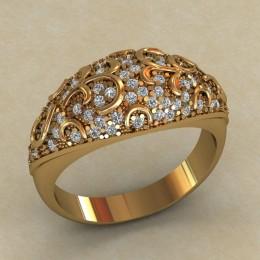 Женский перстень 0712