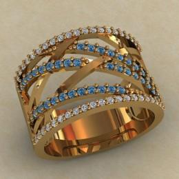 Женский перстень 0714