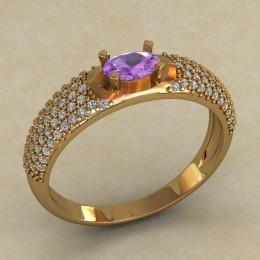 Женское кольцо 0715