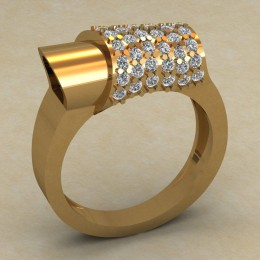 Женский перстень 0716