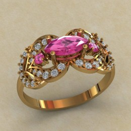 Женское кольцо 0718