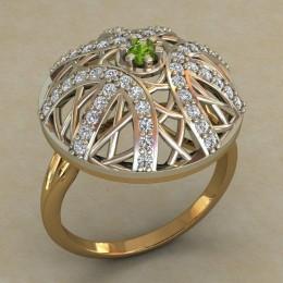 Женский перстень 0719