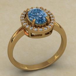 Женский перстень 0722