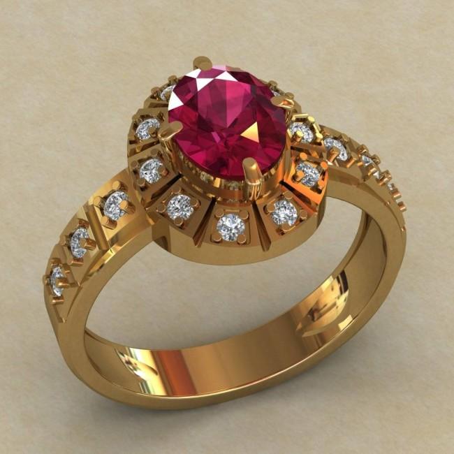 Женский перстень 0725