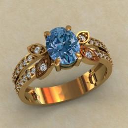 Женское кольцо 0728