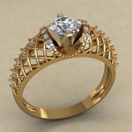 Женское кольцо 0730