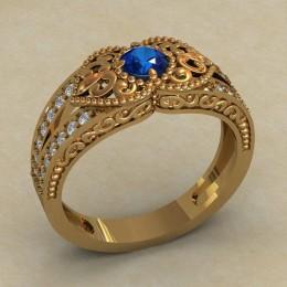 Женское кольцо 0733