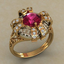 Женский перстень 0735