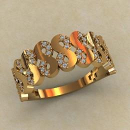 Женское кольцо КЕ-851
