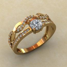 Женское кольцо КЕ-852