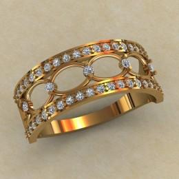 Женское кольцо КЕ-856