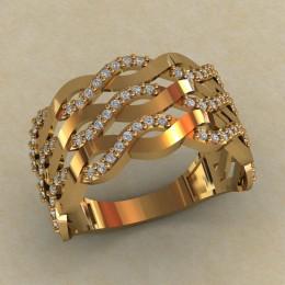 Женское кольцо КЕ-860