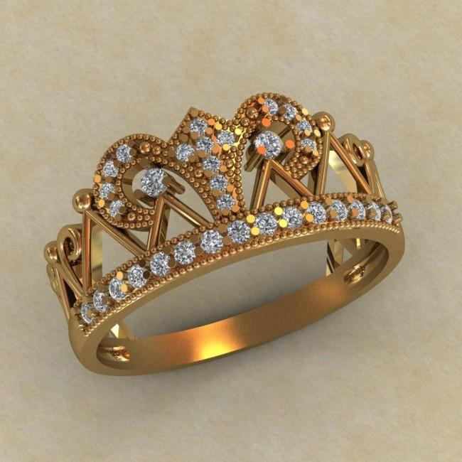 Кольцо корона КЕ-863